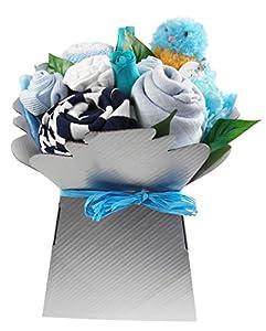 Caja de Flores de Ropita Niño Say It Baby