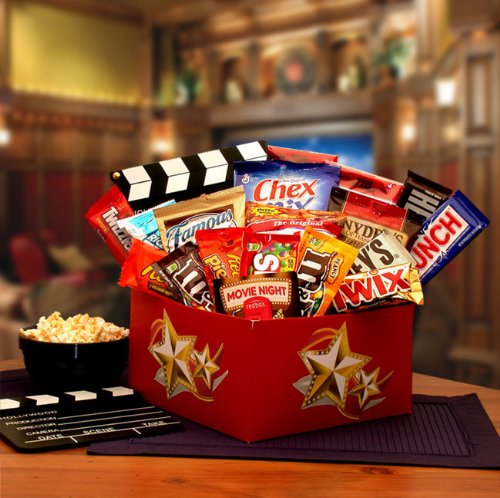 Make It A Red Box Night! Fun Movie And Snack Gift Box