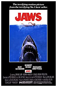 Amazon.com: Jaws Movie Poster, Classic 1970's Suspense ...