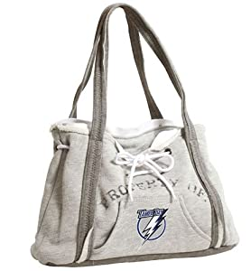 NHL Tampa Bay Lightning Hoodie Purse, Grey 1