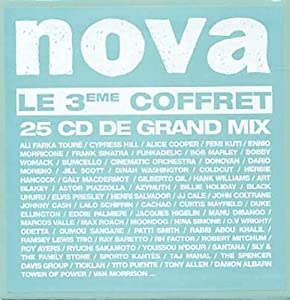 Nova - Le 3eme coffret - 25 cd de grand mix