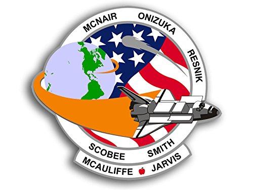 Rotondo STS 51Discovery Logo Adesivo (NASA Seal Mission)