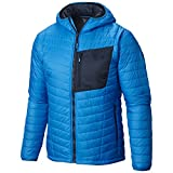 Mountain Hardwear Men's Thermostatic Hooded Jacket, Dark Compass, Small