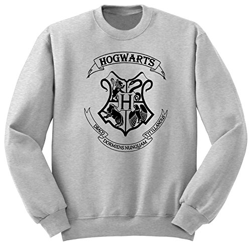 Harry Potter / Hogwarts Alumni / Harry Potter Felpa / SW39 (S, Grigio)