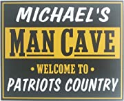 Man Cave Country - Personalized Top and Bottom 11x14
