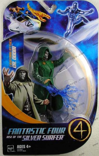 Fantastic 4 Action Figureure Lightning Attack Dr. Doom