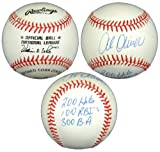 Al Oliver AB-N-AO Autographed Official Rawlings National League Baseball