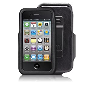Case-Mate iPhone 4 Signature Leather Case & Holster Combo