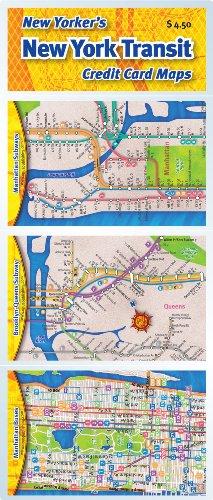 Credit Card Maps: New York Transit Set