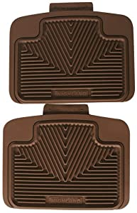 Highland 4403100 All-Weather Tan Back Seat Floor Mat by Highland