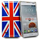 Phonedirectonline - union jack design fancy hard case cover pouch for lg optimus l9 p760