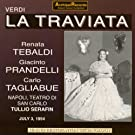 Verdi : La Traviata (Napoli, July 1954)