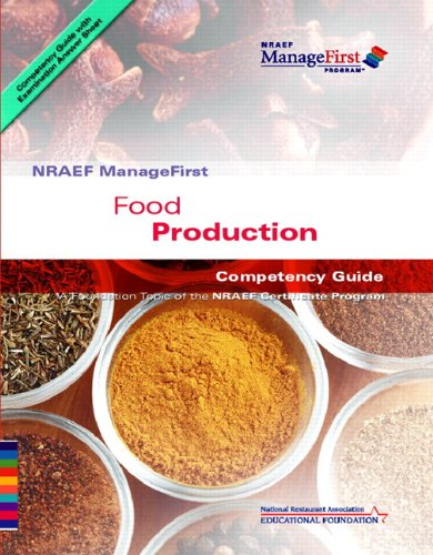 ManageFirst Food Production with Pencil/Paper Exam and...