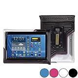 DiCAPac WP-T20 LG G Pad (Tab) 10.1 (V700), Optimus Pad (V900)/LTE 9 /10 /10.1インチ ユニバーサルウォータープルーフケース(ブラック)(二重ジッパーロックシステム、水深5mまで対応可のIPX8防水機能、デバイスを浮かべて守るエアバック内蔵、透明度の高いポリカーボネートレンズ採用、ハンドストラップ付き) の中古画像
