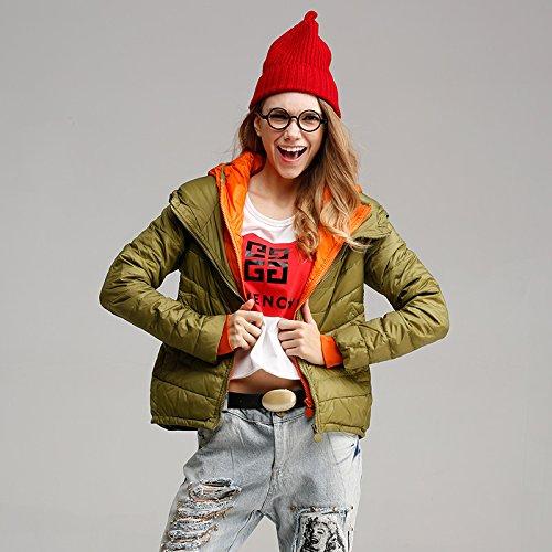 WJP donne ultra leggero rivestimento Packable gi? Outwear tampone piumino W-153