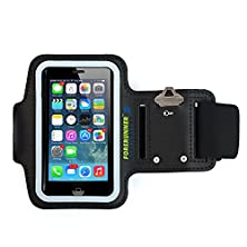 buy Forerunner Sportband+ Iphone 5 Armband For Running With Two Additional Ports For Earphone-Free Listening Works With Ipod Touch 5 For 8-14 Inch Arms