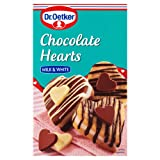 Dr Oetker Chocolate Hearts Milk & White 40g
