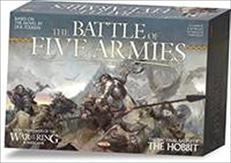 Jeu de société - Le Hobbit - La bataille des cinq armées - AREWOTR010 -. Ares