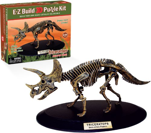 E-Z Build Puzzle - Triceratops Skeleton