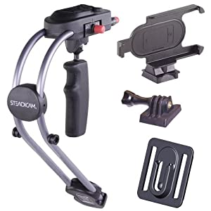 Steadicam Smoothee with iPhone 4/4S Mount and bonus GoPro HD Hero/Hero2 Mount (2 mounts total)