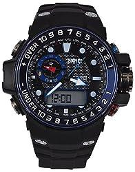 Skmei Calendar Analog - Digital Multi Color Dial Mens Watch - (HMWA05S057C0)