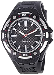 Fastrack New OTS Analog Black Dial Mens Watch - NE9332PP02