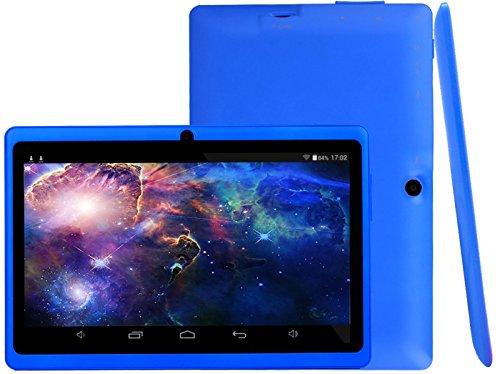 Osgar Ultrathin 7 inch 16GB Tablet PC,HD 1024*600, Google Android 4.4 OS, Allwinner A33 1.3GHz,Quad Core CPU,Dual Camera,Wifi (Navy blue)