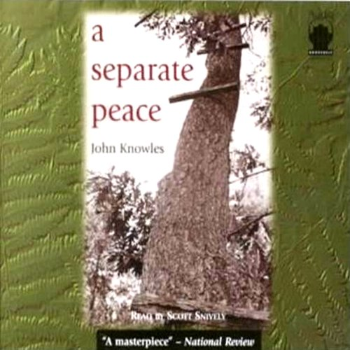 "a separate peace by john knowles thesis Critical analysis of ""a seperate peace"" critical analysis of ""a seperate peace""in the book a separate peace, john knowles makes of knowles thesis and."