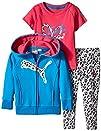 PUMA Baby-Girls Twofer and Zip Hoodie…