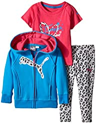 PUMA Baby-Girls Twofer and Zip Hoodie…