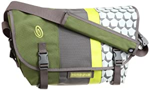 Timbuk2 D-Lux Laptop Racing Stripe Messenger (2011) - M (Algae from Timbuk2
