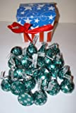 American treat box Hershey mint truffle kisses