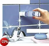 WENKO 5663010500 Bianco per fughe con applicatore in spugna - anti-muffa,  0.125 L, Composizione chimica