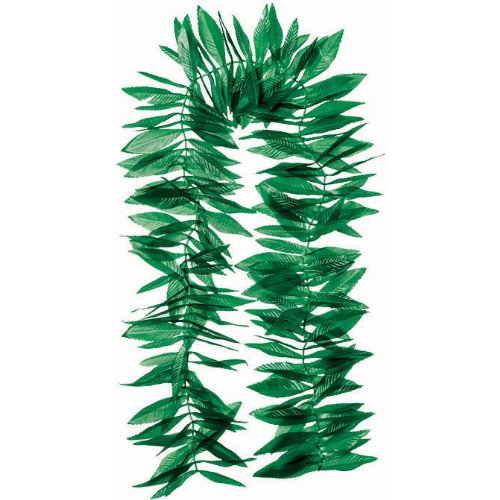 Amscan International Green Leaf Lei Hawaiian
