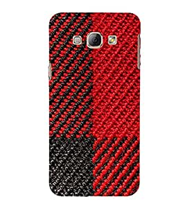 Red and Black Pattern 3D Hard Polycarbonate Designer Back Case Cover for Samsung Galaxy A8 (2015 Old Model) :: Samsung Galaxy A8 Duos :: Samsung Galaxy A8 A800F A800Y