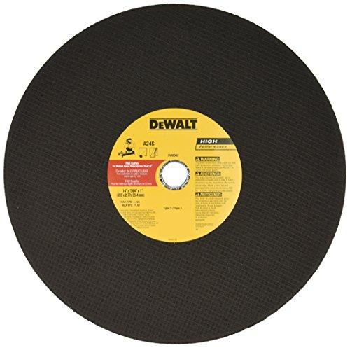 DEWALT DW8002 14-Inch by 7/64-Inch Bar Cutter Chop Saw Wheel