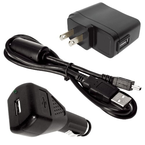 Midland Consumer Radio Accessory Value Pack for Midland XTC200. XTC300 and XTC350 Cameras. Includes AC and DC Adaptor for Charging with USB Cable XTAVP-4