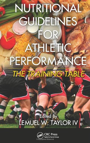 Nutritional Guidelines For Athletic Performance: The Training Table
