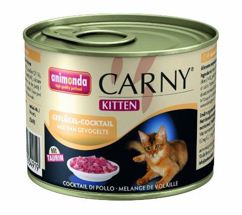 Animonda-Carny-Kitten-Geflgel-Cocktail-200-g-Katzenfutter-6er-Pack-6-x-200-g