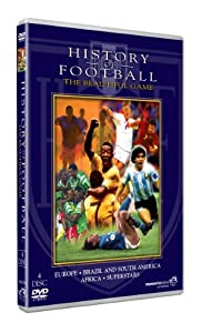 The History Of Football 4 disc edition [DVD] [2002]