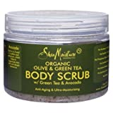 Shea Moisture ORGANIC Olive & Green Tea Body Scrub 12oz [SEALED]