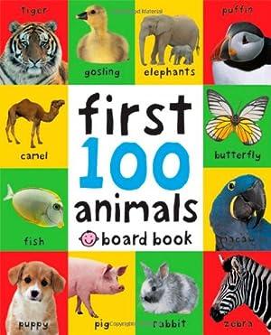 First 100 Animals, versión Inglés