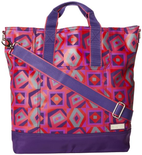 Hadaki French Market Tote,Tic Tac Toe Berry,one size