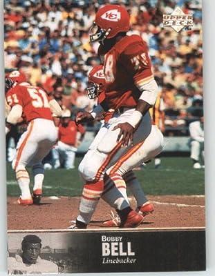 1997 Upper Deck Legends Football Card # 82 Bobby Bell - Kansas City Chiefs - NFL Trading Card