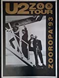 U2 Zoo TV Tour Zooropa 93 Poster (60.96 x 91.44 cm)
