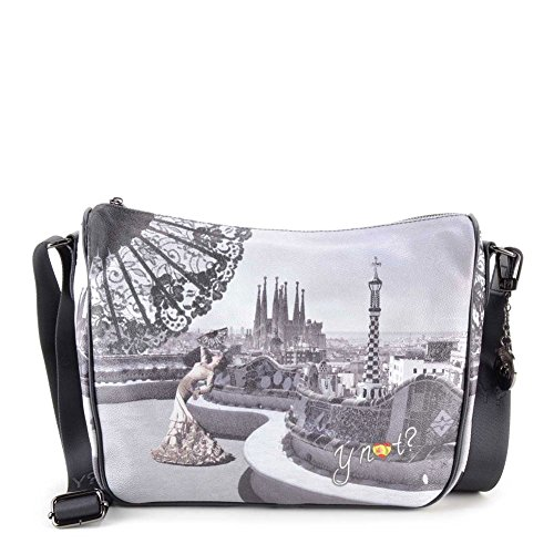 Y NOT? - Borsa donna a tracolla cartella g-370 barcellona flamenco