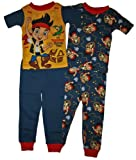 Jake and the Never Land Pirates Toddler Boys 4 Pc Pajama Set