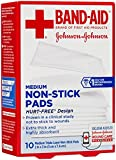 Bandaid First Aid 2X3 in Nonstick Pads 10 ct
