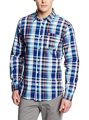 Springfield Camisa Hombre (Azul Marino)