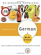 German Made Simple: Learn to speak and…